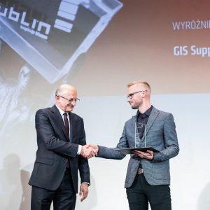 Nagroda Gospodarcza Prezydenta Miasta Lublina dla GIS Support!